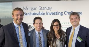 alphagamma The Kellogg-Morgan Stanley Sustainable Investing Challenge opportunities