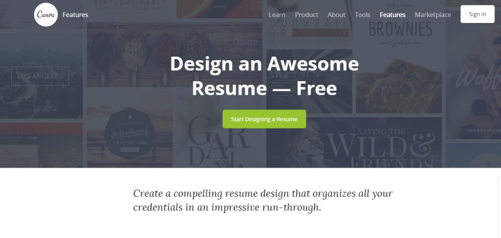 21 resume builders to make a stunning cv online