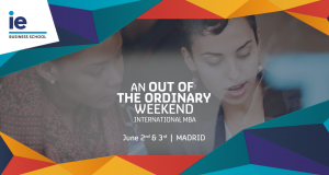 alphagamma IE International MBA Out of the Ordinary Weekend 2017 opportunities