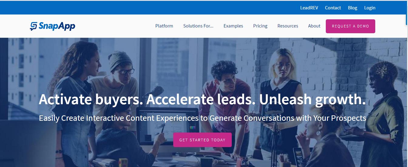 alphagamma 22 best content marketing platforms entrepreneurship opportunities snapapp