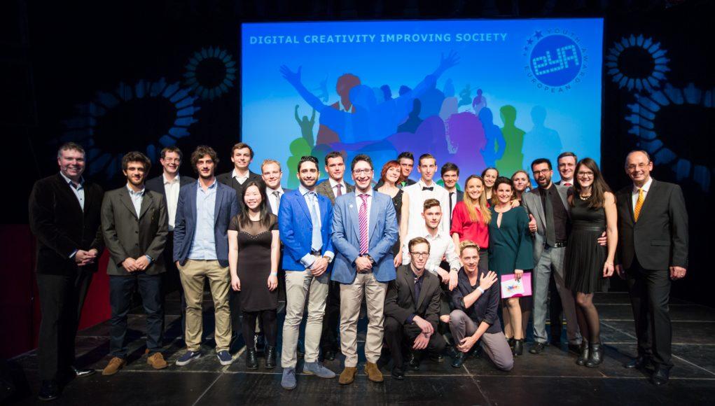 alphagamma European Youth Award 2017 Digital Creativity improving Society opportunities