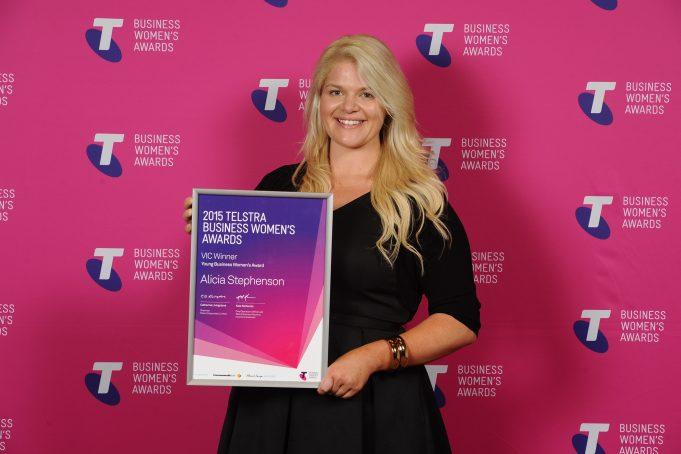 alphagamma Telstra Business Women's Awards 2017 opportunities