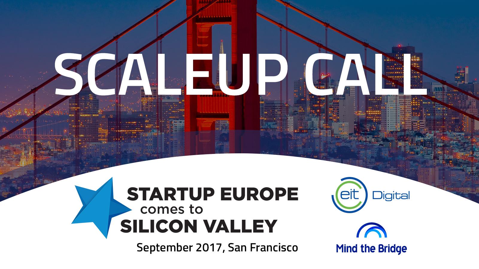 SEC2SV Scaleups Call 2017